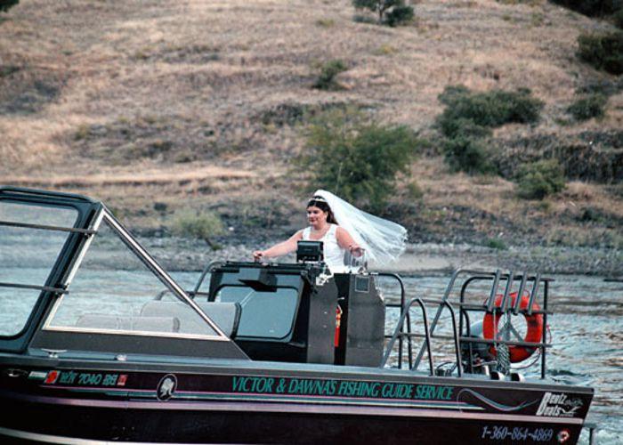 Wedding at Hells Canyon Resort